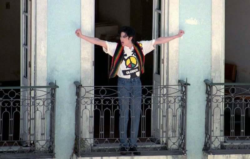 """O que fazer no Pelourinho em Salvador: Michael Jackson na gravação do clipe """"They Don't Care About Us"""""""