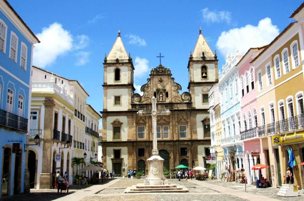O que fazer no Pelourinho em Salvador: Igreja e o Cruzeiro de São Francisco