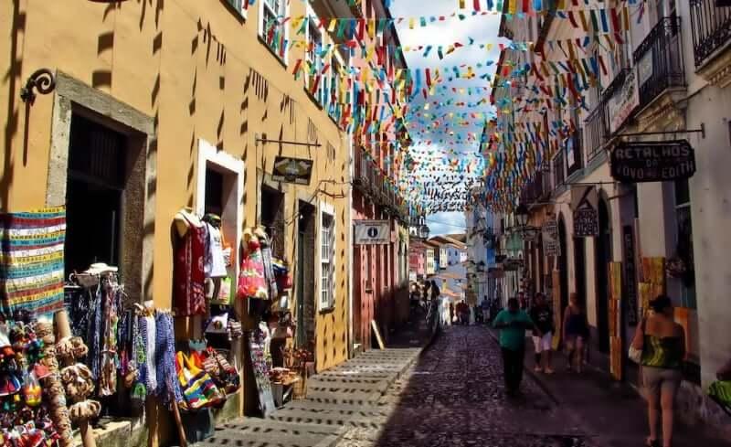 O que fazer no Pelourinho em Salvador: Rua Gregório de Matos