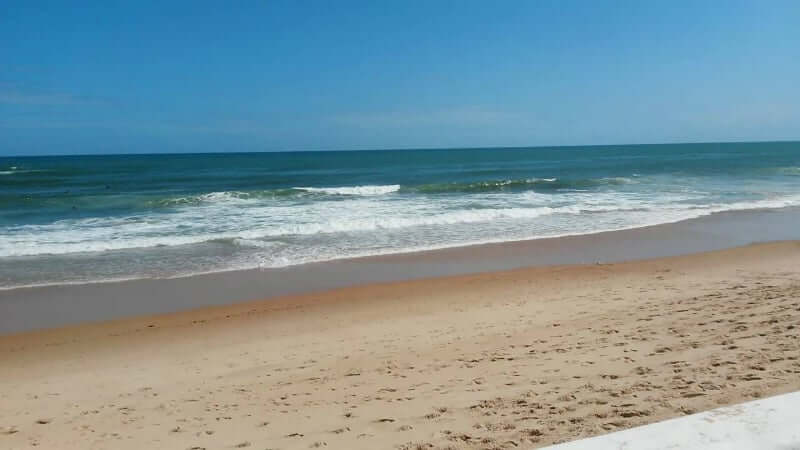 Praia de Amaralina em Salvador: Mar de Amaralina