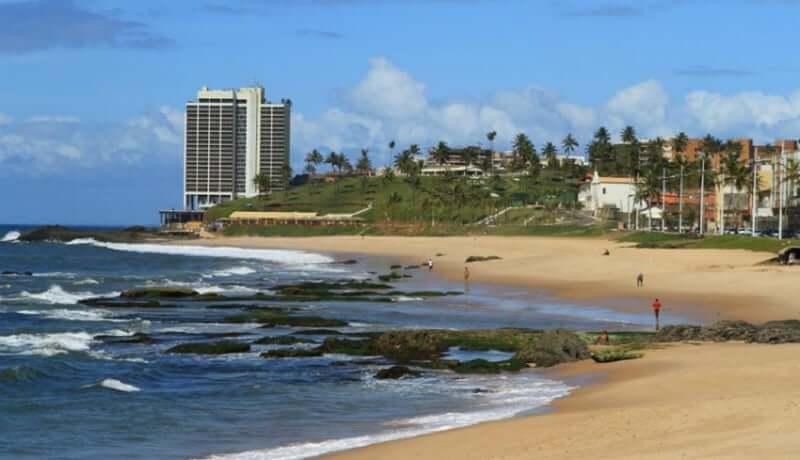 Praia de Amaralina em Salvador: Praia