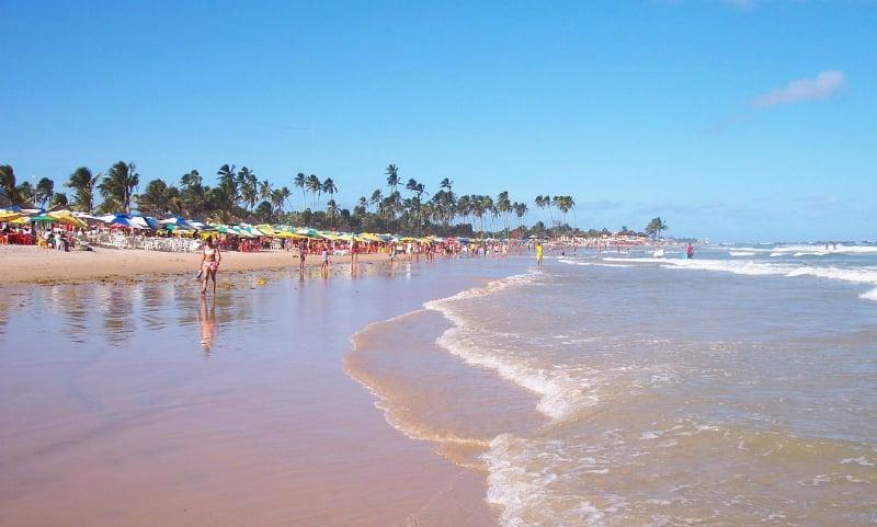 Praia de Jaguaribe em Salvador: Praia de Piatã
