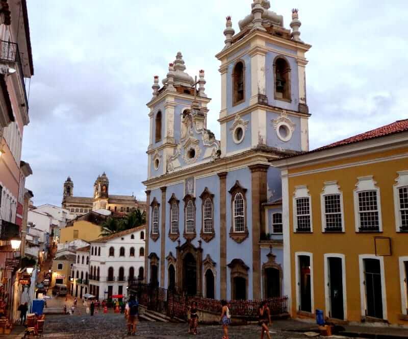 Catedral Basílica Primacial de São Salvador em Salvador: Igreja Nossa Senhora do Rosário dos Pretos