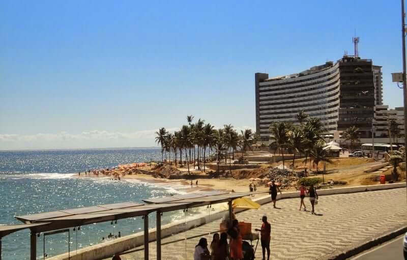 Roteiro de 5 dias em Salvador: Calçadão e Praia de Ondina