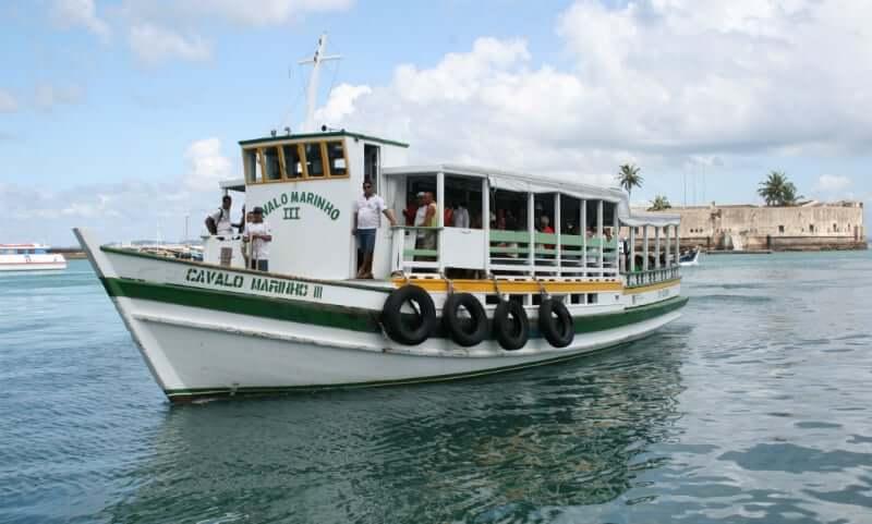 Roteiro de 5 dias em Salvador: passeio de barco