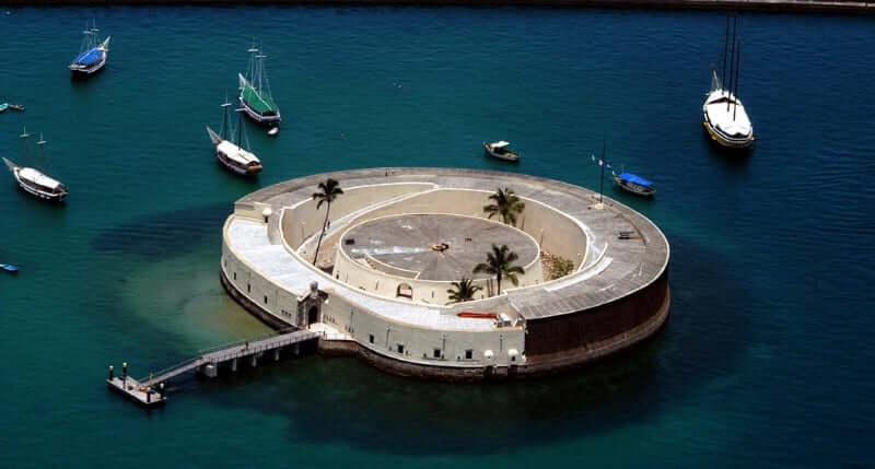 Roteiro de 5 dias em Salvador: Forte de São Marcelo