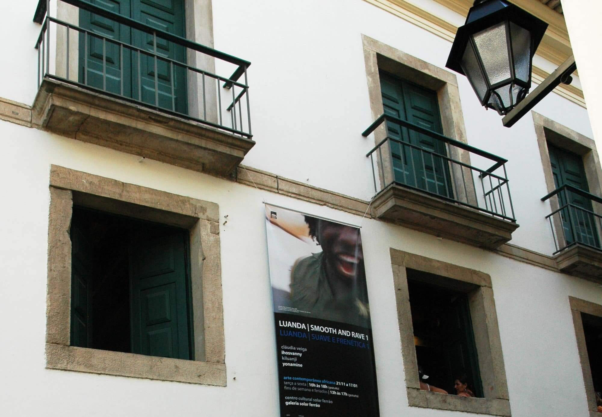Centro Cultural Solar do Ferrão em Salvador: Detalhes da Fachada