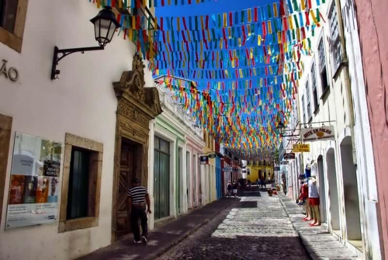 Centro Cultural Solar do Ferrão em Salvador: Rua Maciel de Baixo