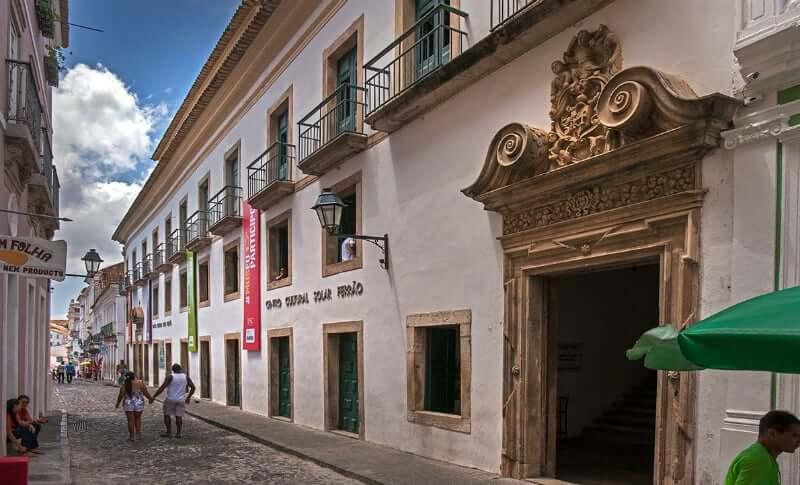 Museu Tempostal em Salvador: Centro Cultural Solar do Ferrão