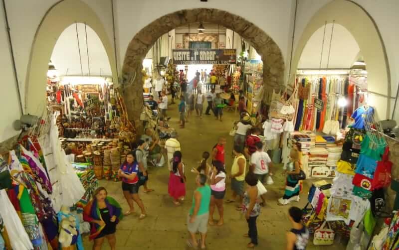 Mercado Modelo em Salvador: