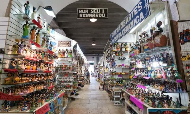 Mercado Modelo em Salvador: Corredores