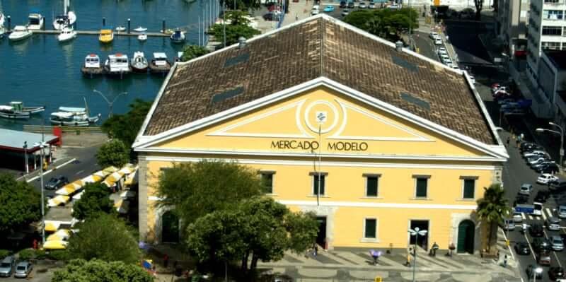 Mercado Modelo em Salvador: Fachada do Mercado Modelo
