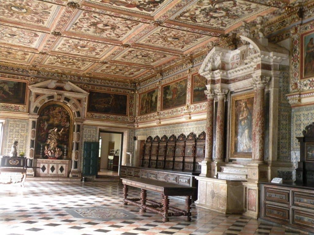 Catedral Basílica Primacial de São Salvador em Salvador: Detalhes da Sacristia