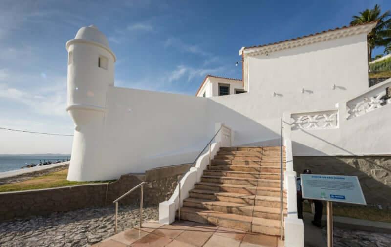 Palacete das Artes em Salvador: Forte São Diogo