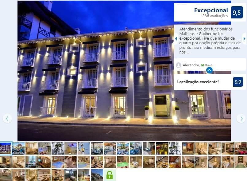 Melhores hotéis em Gramado: Modevie
