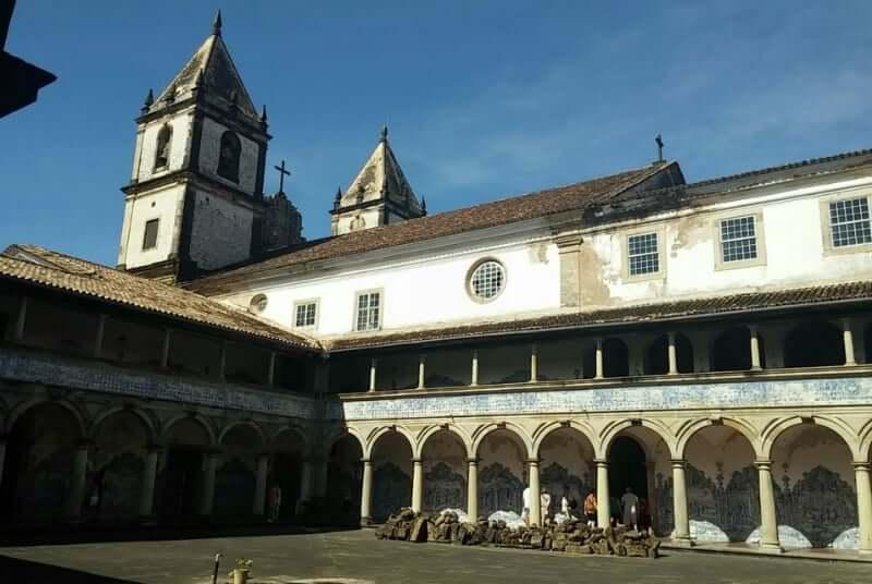 Igreja e Convento de São Francisco em Salvador: Convento
