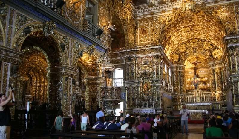 Igreja e Convento de São Francisco em Salvador: Visita na Igreja