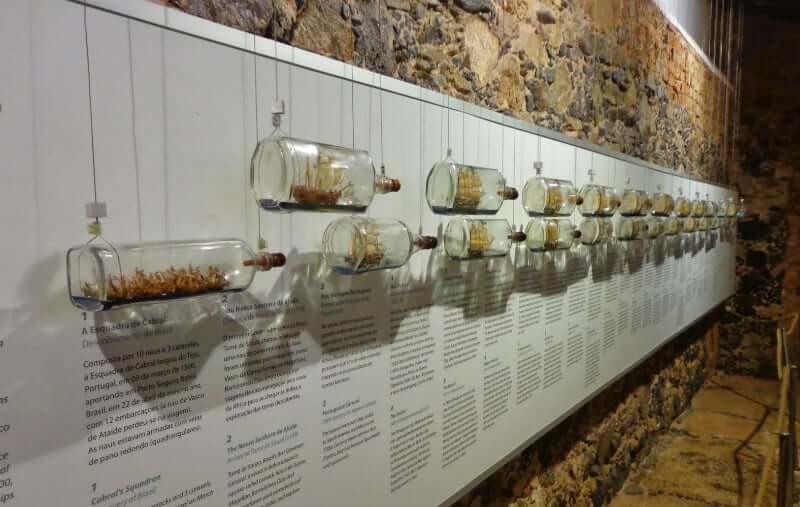 Museu Náutico da Bahia em Salvador: Exposição de miniaturas