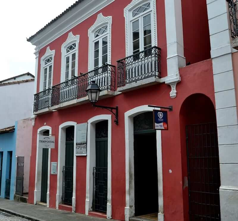 Museu Tempostal em Salvador: Fachada do Museu