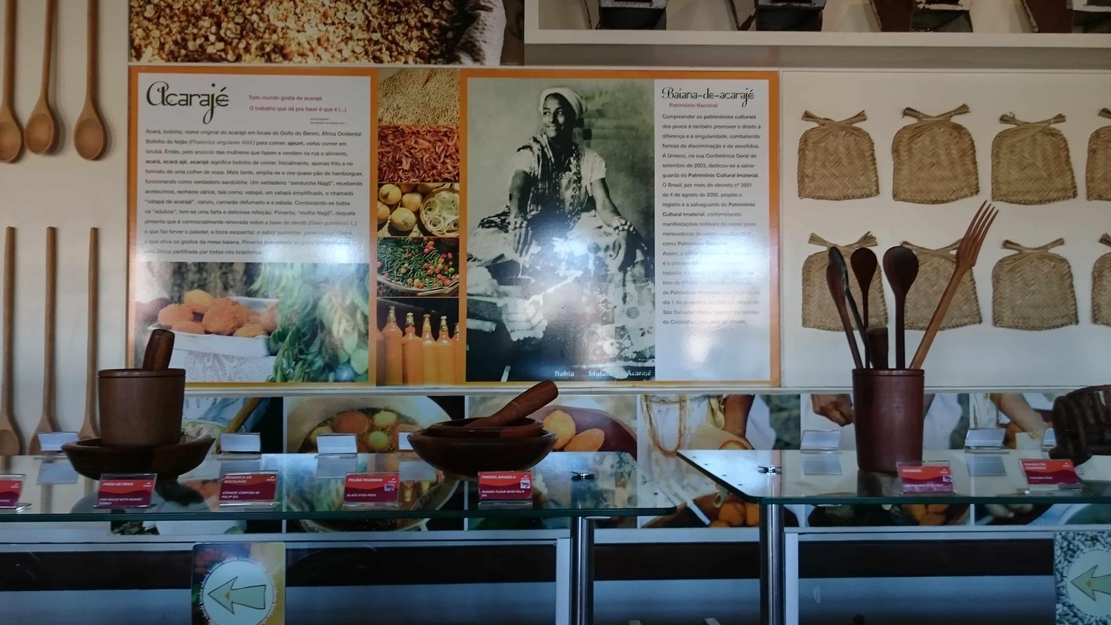 Museu Tempostal em Salvador: Museu da Gastronomia Baiana