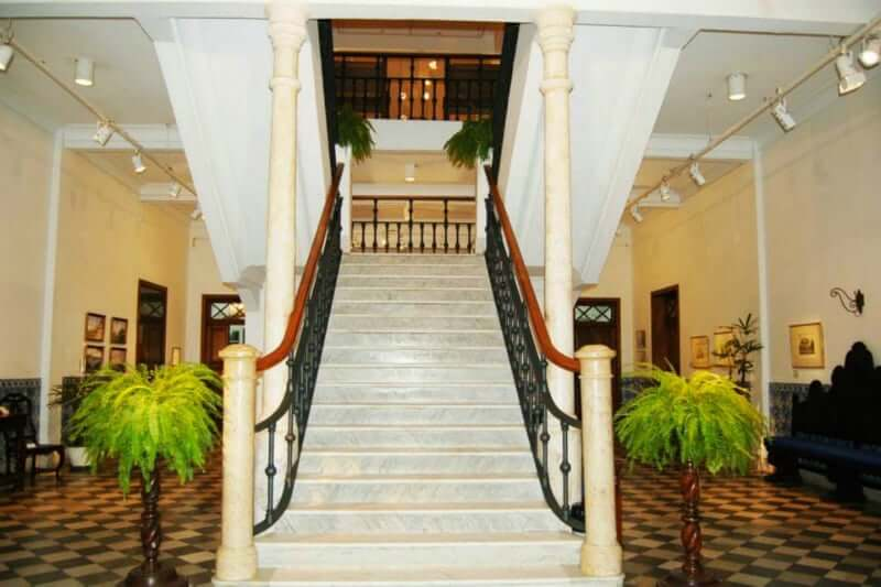 Museu de Arte da Bahia em Salvador: Área interna