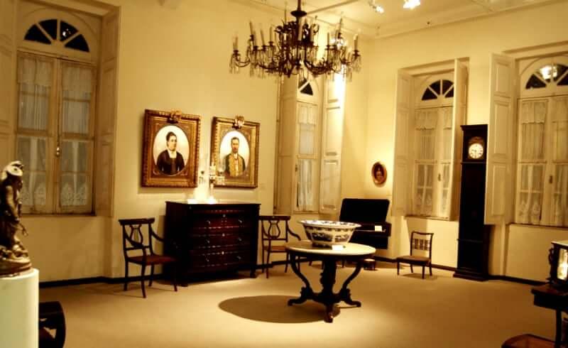 Museu de Arte da Bahia em Salvador: Sala de exposição