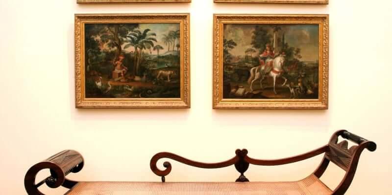 Museu de Arte da Bahia em Salvador: Obras de arte