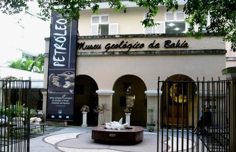 Museu de Arte da Bahia em Salvador: Museu Geológico de Salvador