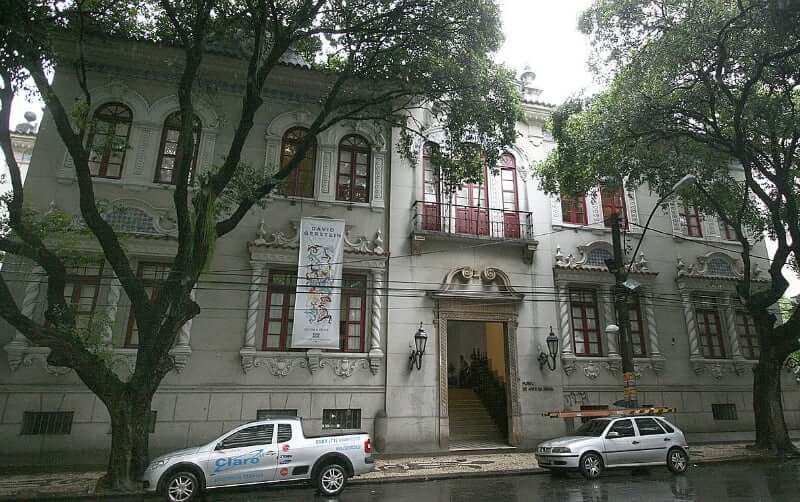 Museu de Arte da Bahia em Salvador: Fachada