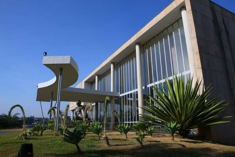 Museu de Arte Moderna da Pampulha: Fachada do museu