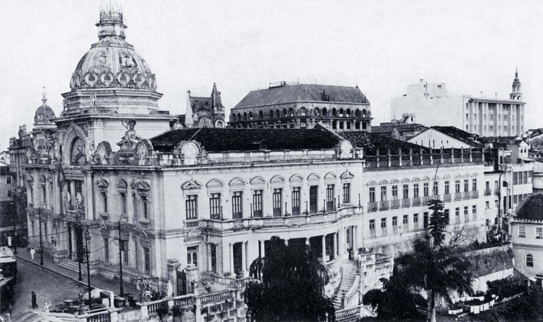 Palácio Rio Branco em Salvador: Arquitetura no palácio em meados de 1919