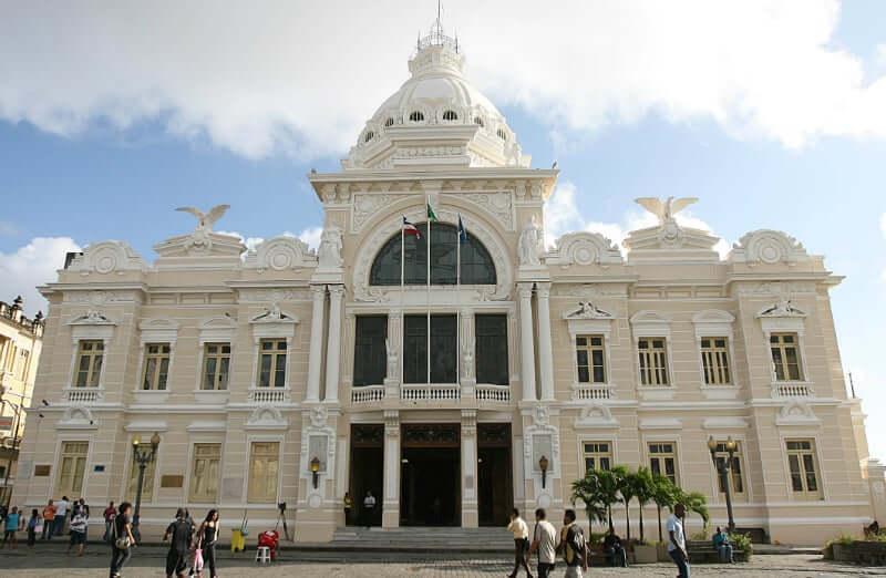 Palácio Rio Branco em Salvador: Fachada do Palácio