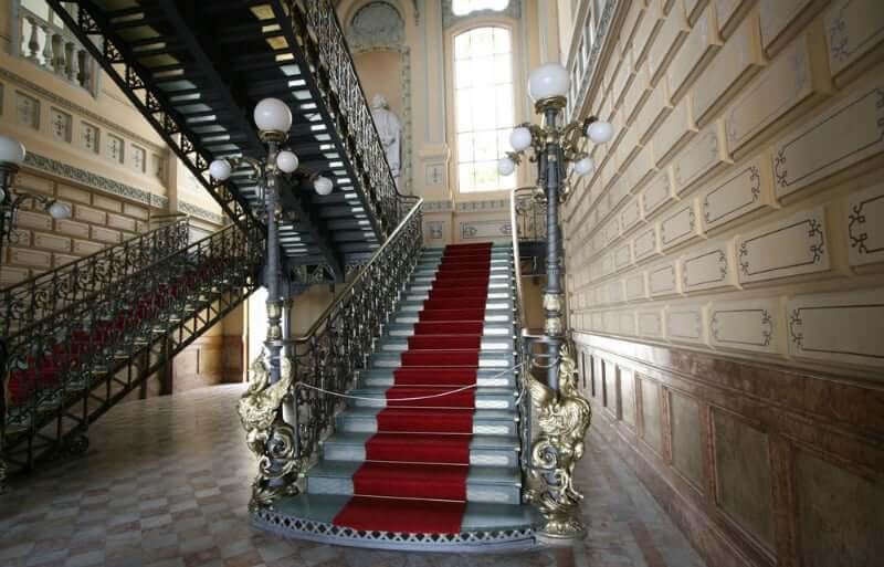 Palácio Rio Branco em Salvador: Escadaria