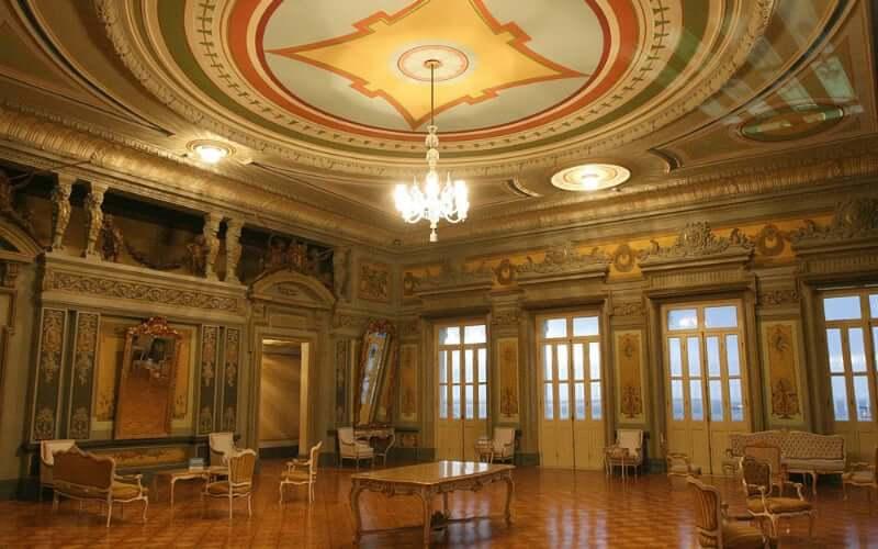 Palácio Rio Branco em Salvador: Área interna