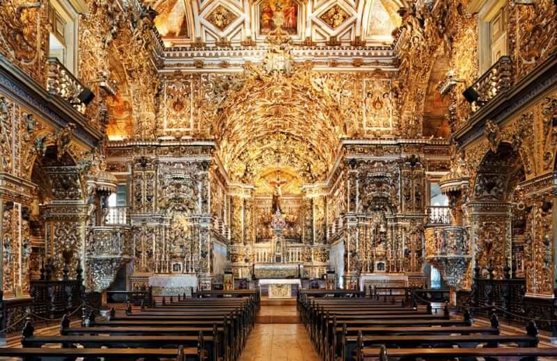 Palácio Rio Branco em Salvador: Igreja e Convento São Francisco