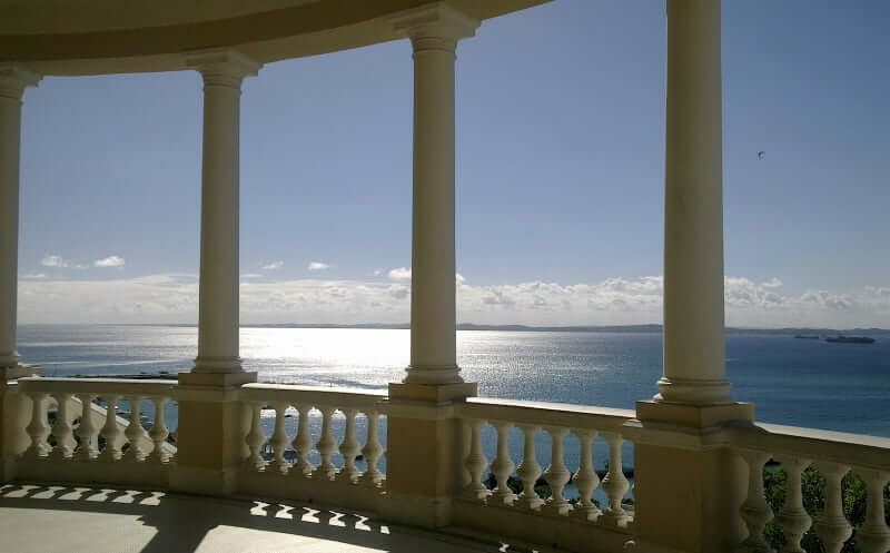 Palácio Rio Branco em Salvador: Vista do palácio