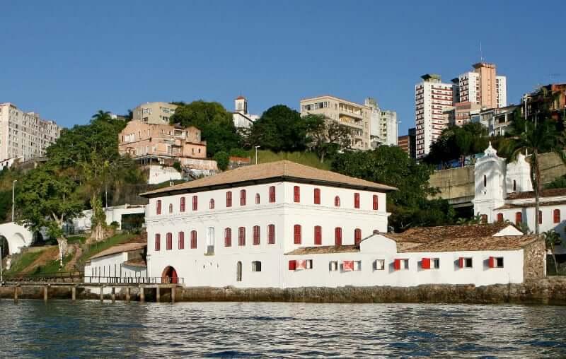 Palácio Rio Branco em Salvador: Museu de Arte Moderna da Bahia (MAM)
