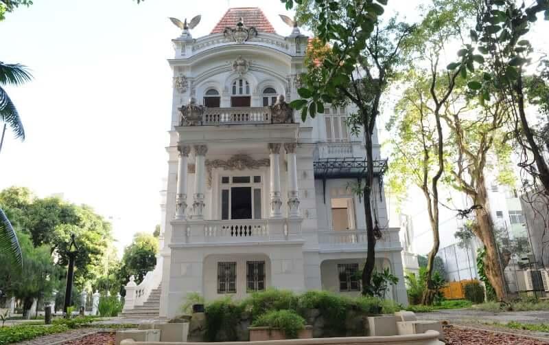 Palacete das Artes em Salvador: Fachada do casarão histórico
