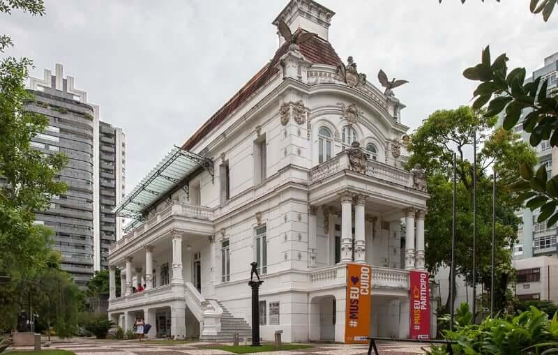 Museu Náutico da Bahia em Salvador: Palacete das Artes