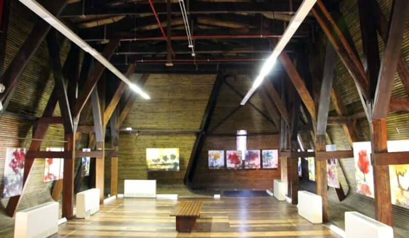 Palacete das Artes em Salvador: Exposição