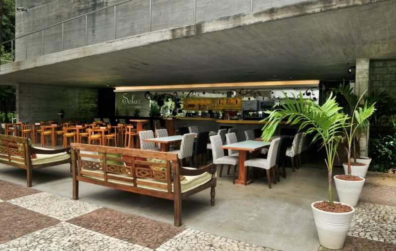 Palacete das Artes em Salvador: Restaurante Solar