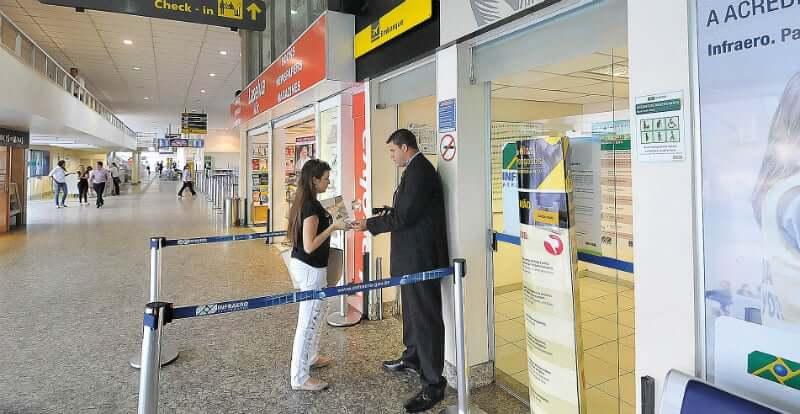 Como ir dos aeroportos de Belo Horizonte até o centro da cidade: Interior do Aeroporto Carlos Drummond de Andrade (Pampulha)