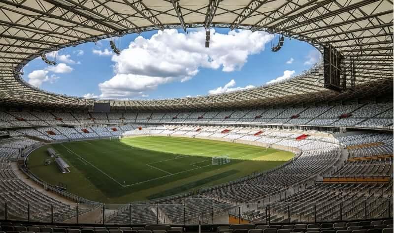 Museu de Arte Moderna da Pampulha em Belo Horizonte: Estádio Mineirão
