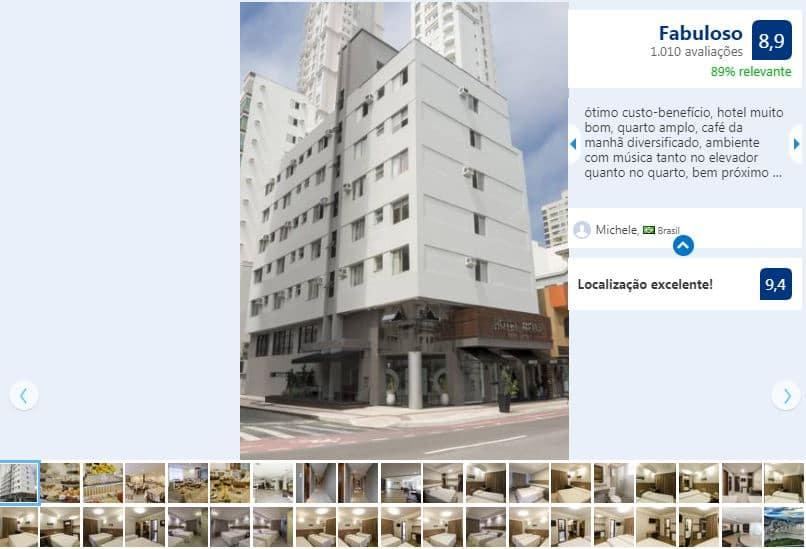 Balneário Shopping em Balneário Camboriú: Hotel Melo