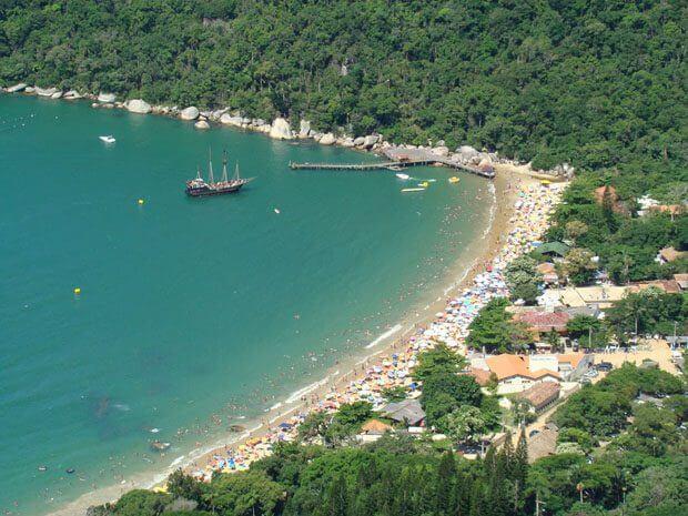 Natal em Balneário Camboriú: Praia de Laranjeiras