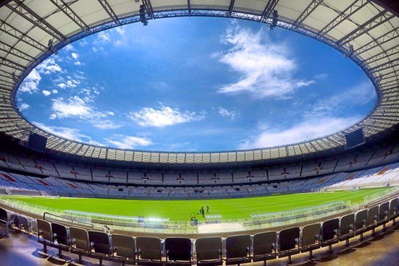 Estádio Governador Magalhães Pinto em Belo Horizonte: Área interna