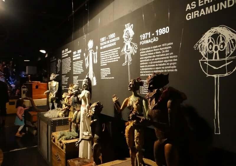 O que fazer com as crianças em Belo Horizonte: Acervo com mais de 1.500 peças do Museu Giramundo