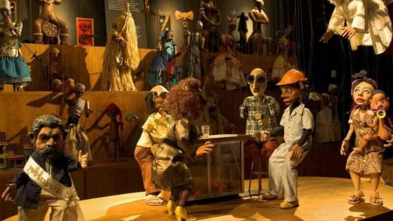O que fazer com as crianças em Belo Horizonte: Exposição dos fantoches do Museu Giramundo