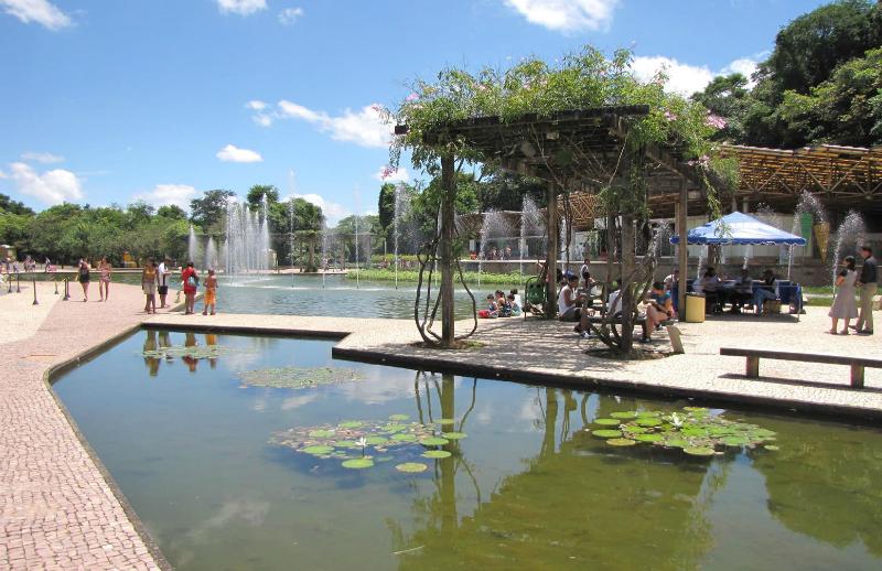 Deficientes físicos em Belo Horizonte: Parque das Mangabeiras