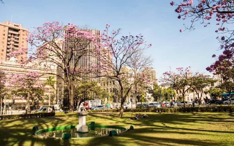 MM Gerdau - Museu das Minas e do Metal em Belo Horizonte: Praça da Liberdade